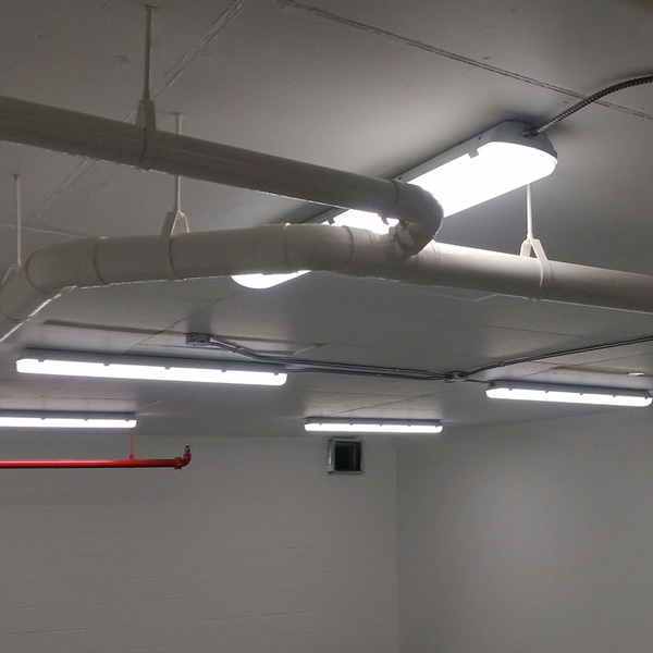 LED Storage Lighting Upgrade